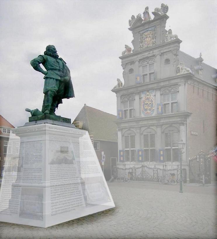 Discussie barst los over toekomst standbeeld JP Coen in Hoorn: 'held' of 'massamoordenaar'