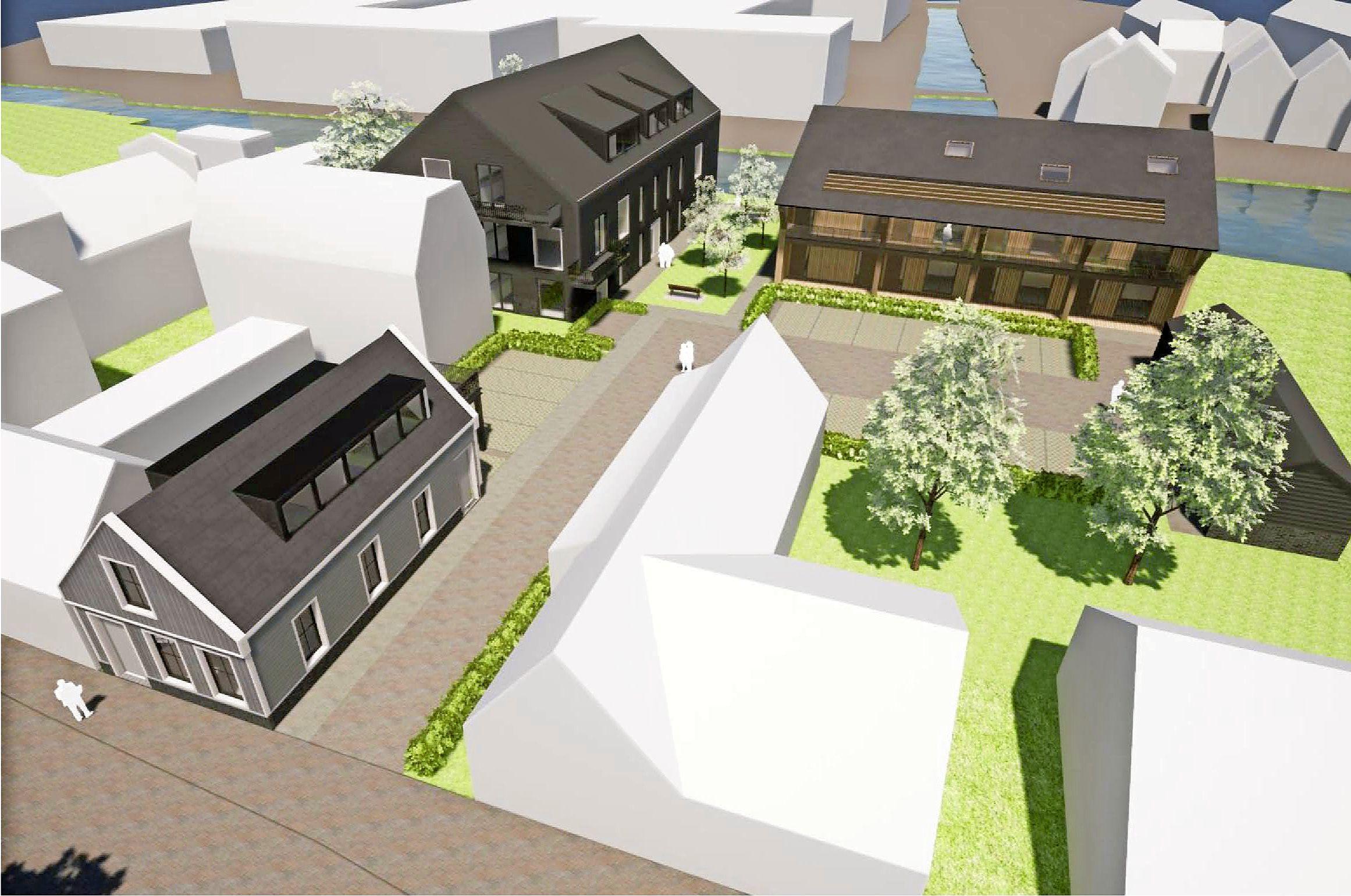 'Getrapte weeg': TBP bouwt levensloopbestendig wooncomplex aan Noorderhoofdstraat in Krommenie