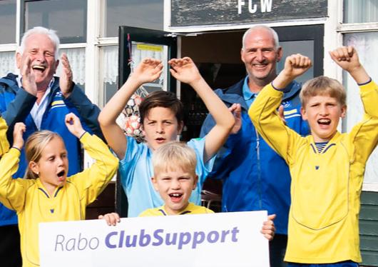 510 verenigingen in regio Alkmaar kijken reikhalzend uit naar gouden enveloppen actie 'Rabo Clubsupport'