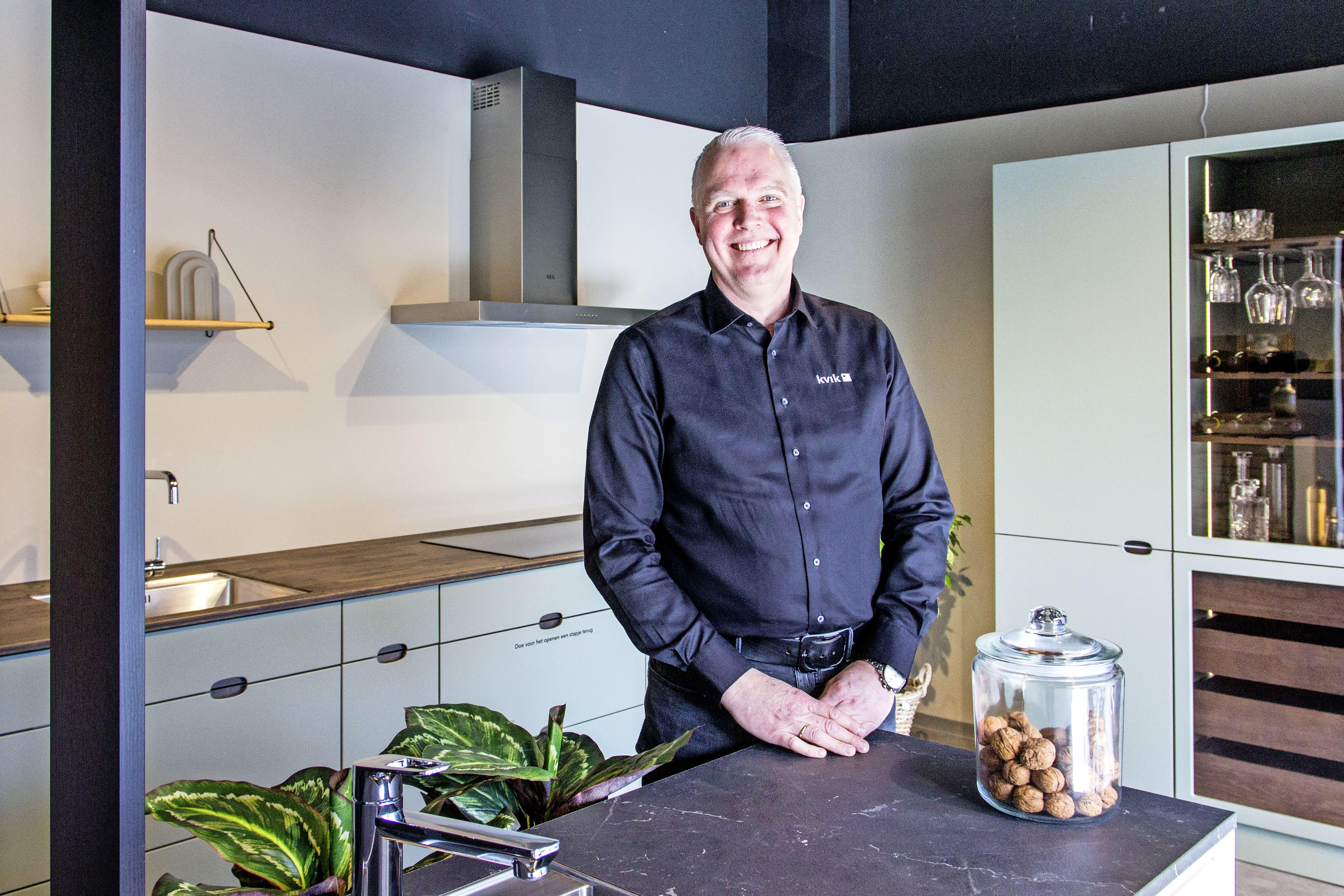 Autoverkoper Wilco Daman handelt nu in keukens: 'Ik wist alleen hoe een tostiapparaat werkt'