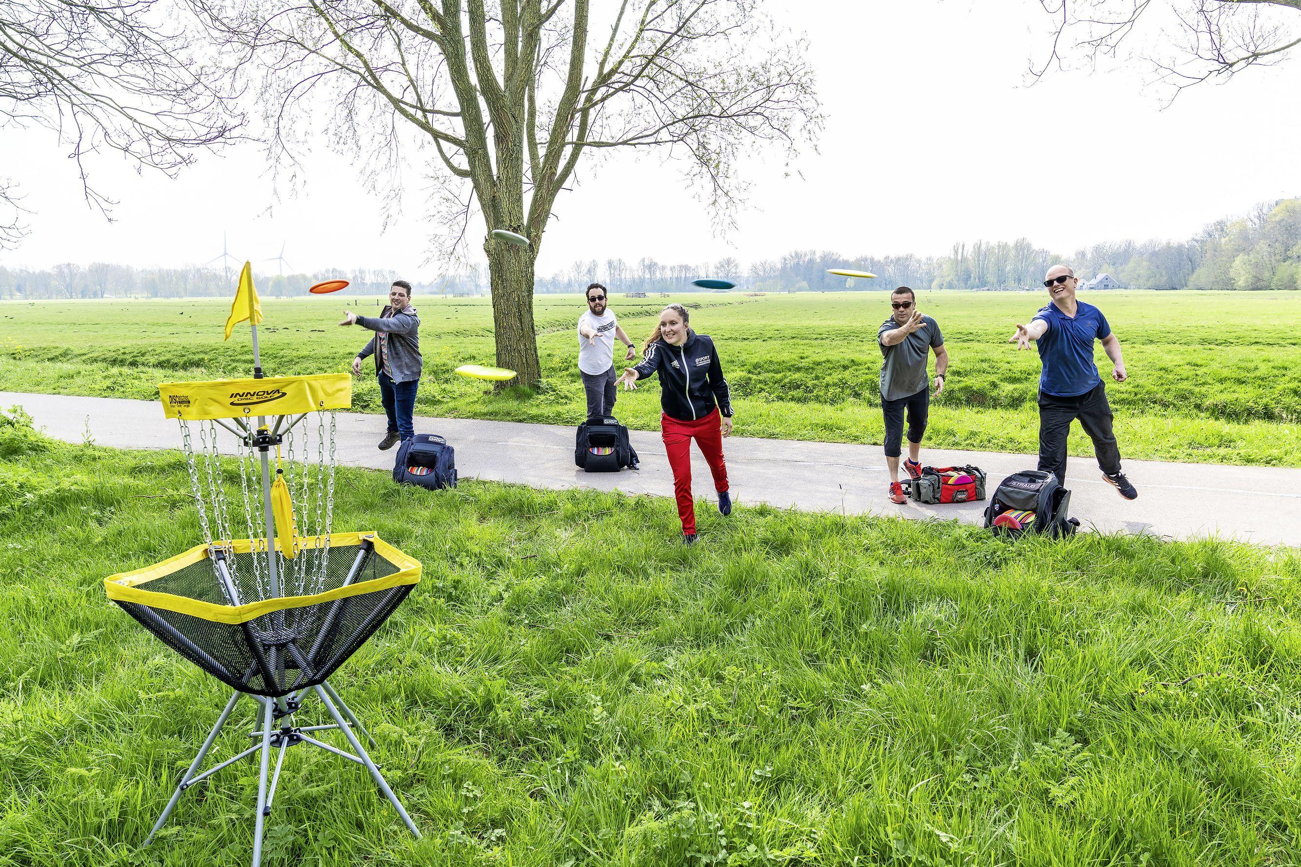 Verzet tegen komst discgolfbaan in Leids polderpark Cronesteyn: 'Hoe lelijk wil je het park maken?'