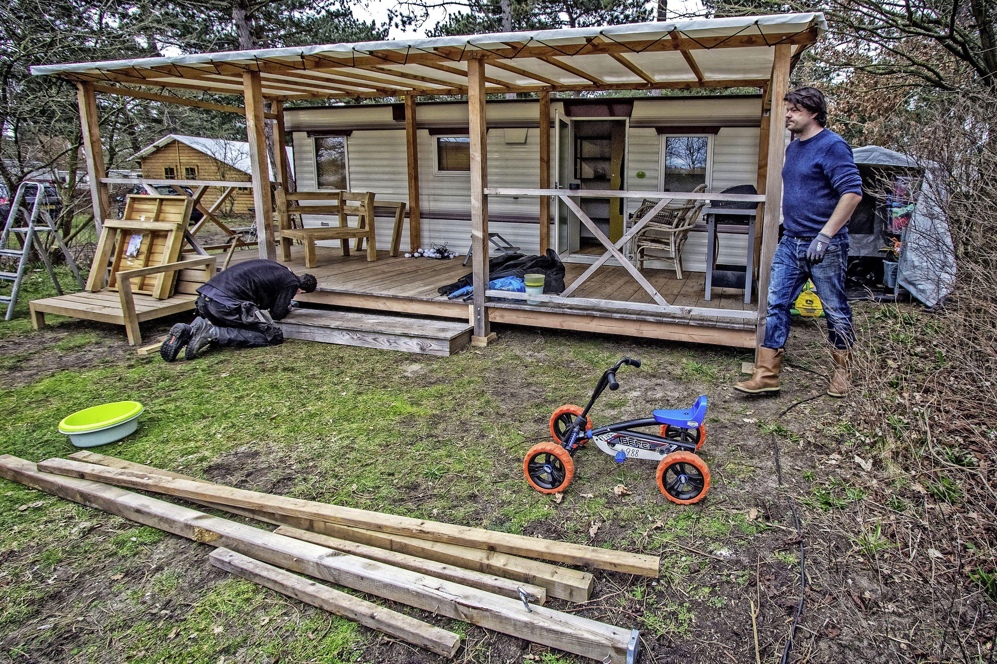 Camping Bakkum is weer klaar voor overnachtingen