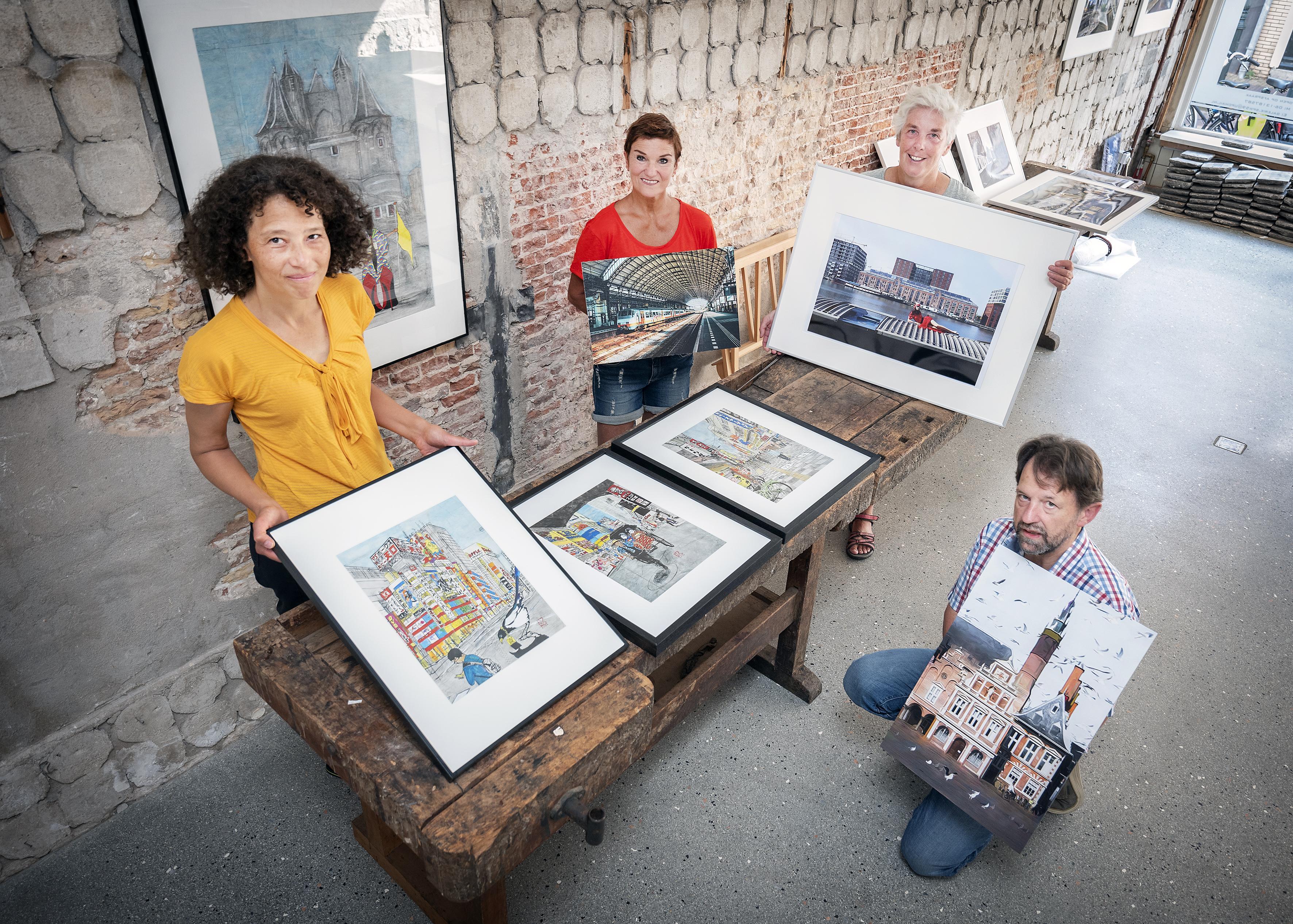 Galerie SPW59 en De Waag tonen de stilte in de stad, met dank aan corona (en de kunstenaars)