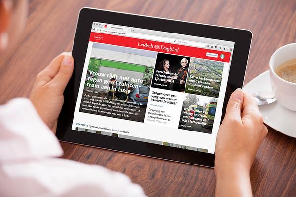 Nieuwe website Leidsch Dagblad