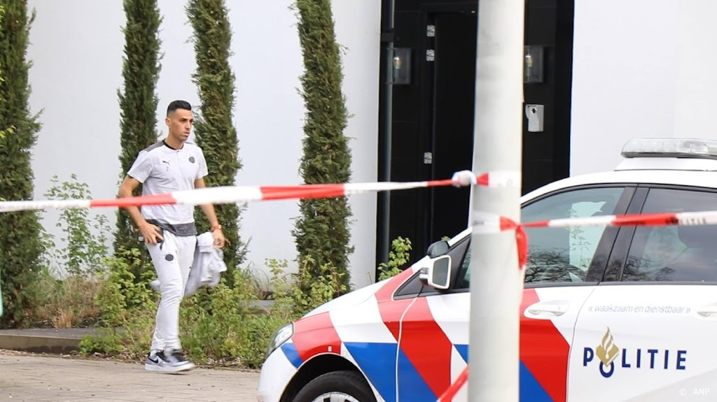Politie komt met oproep in zaak overval woning PSV'er Zahavi
