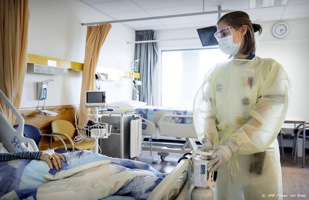 Aantal Covid-patiënten in ziekenhuizen iets afgenomen