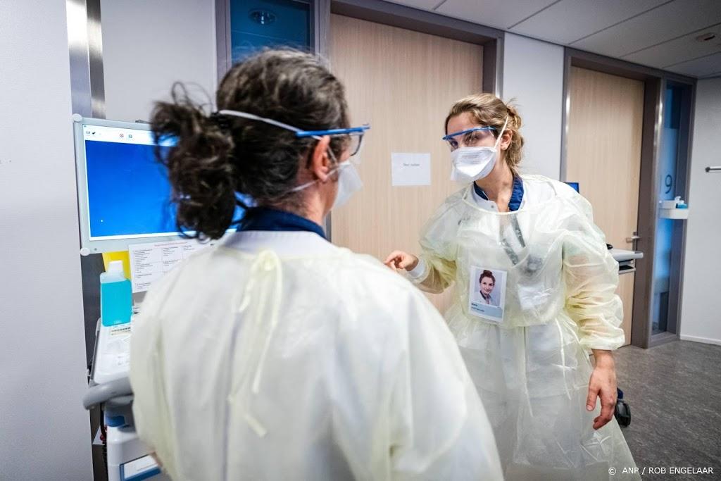 Aantal besmette zorgmedewerkers stijgt tot boven 60.000