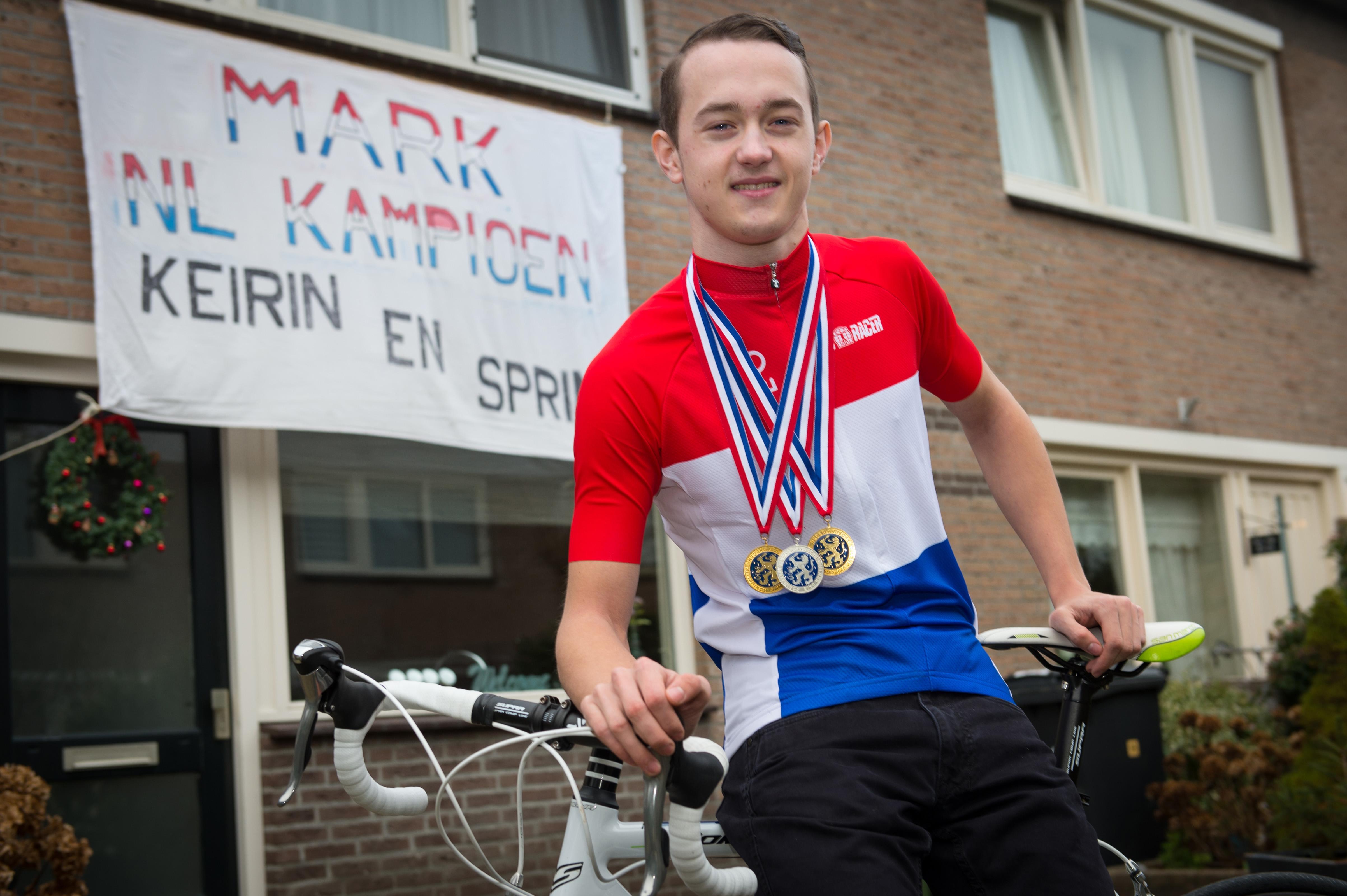 Purmerendse baanwielrenner Mark Bakker: 'Mijn hart ligt bij de sprint'