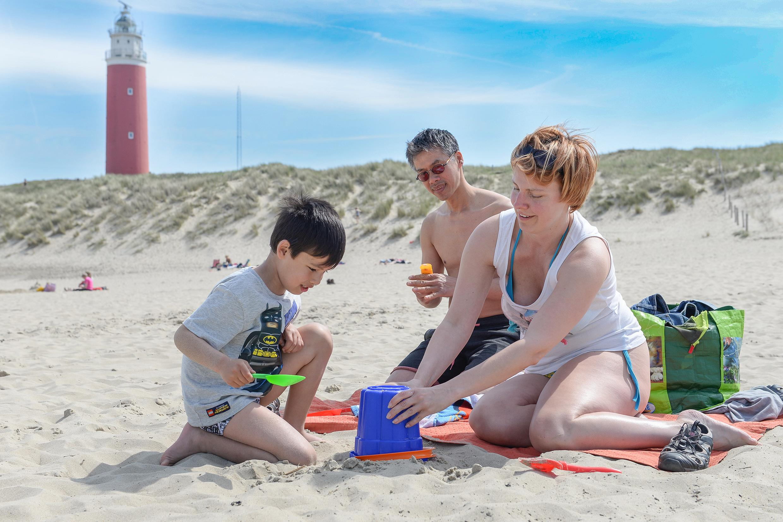 Op Texel is het dit jaar lekker lang vakantie. Tot half oktober staat het eiland in 'zomerstand'