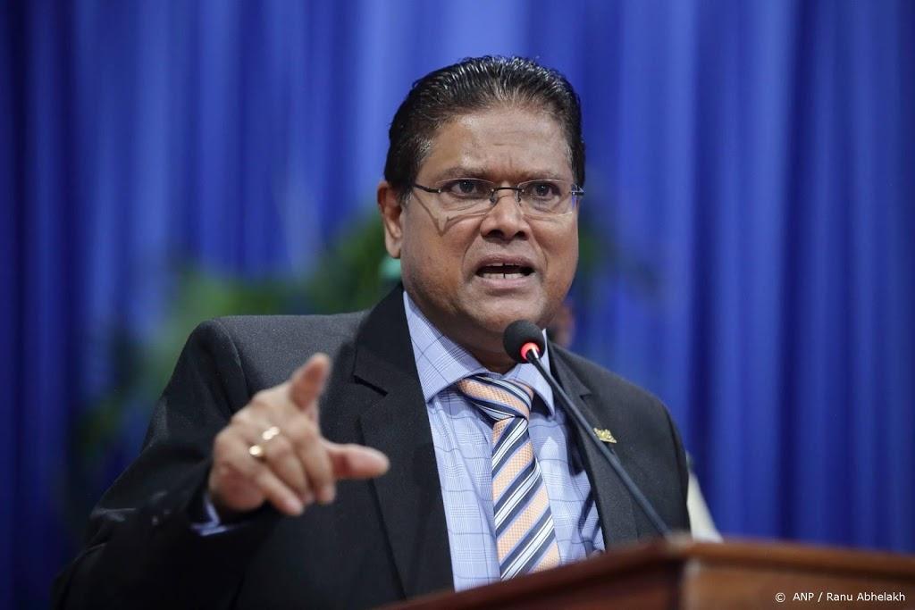 Bezoek Surinaamse president uitgesteld tot na verkiezingen
