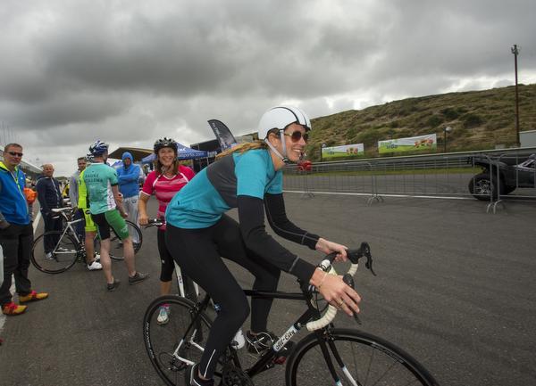 'Cycling Zandvoort is één grote wilskrachttoer'