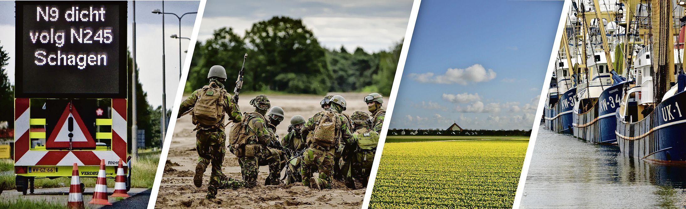 Defensie, woningentekort, bereikbaarheid en visserij: wat willen de partijen voor de Noordkop?