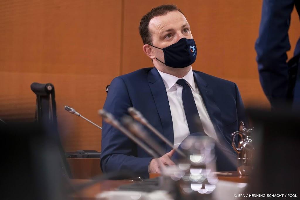 Duitse minister van Volksgezondheid test positief op corona