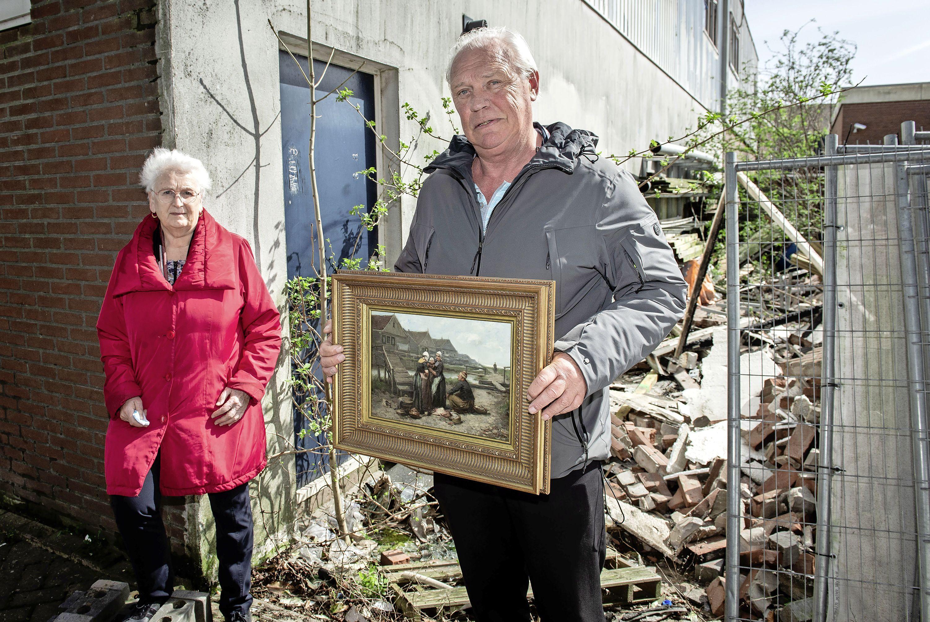 Kostbare kunstcollectie van Hotel Spaander ontsnapt aan vlammenzee: 'Ik dacht: oh god, daar gaat alles'
