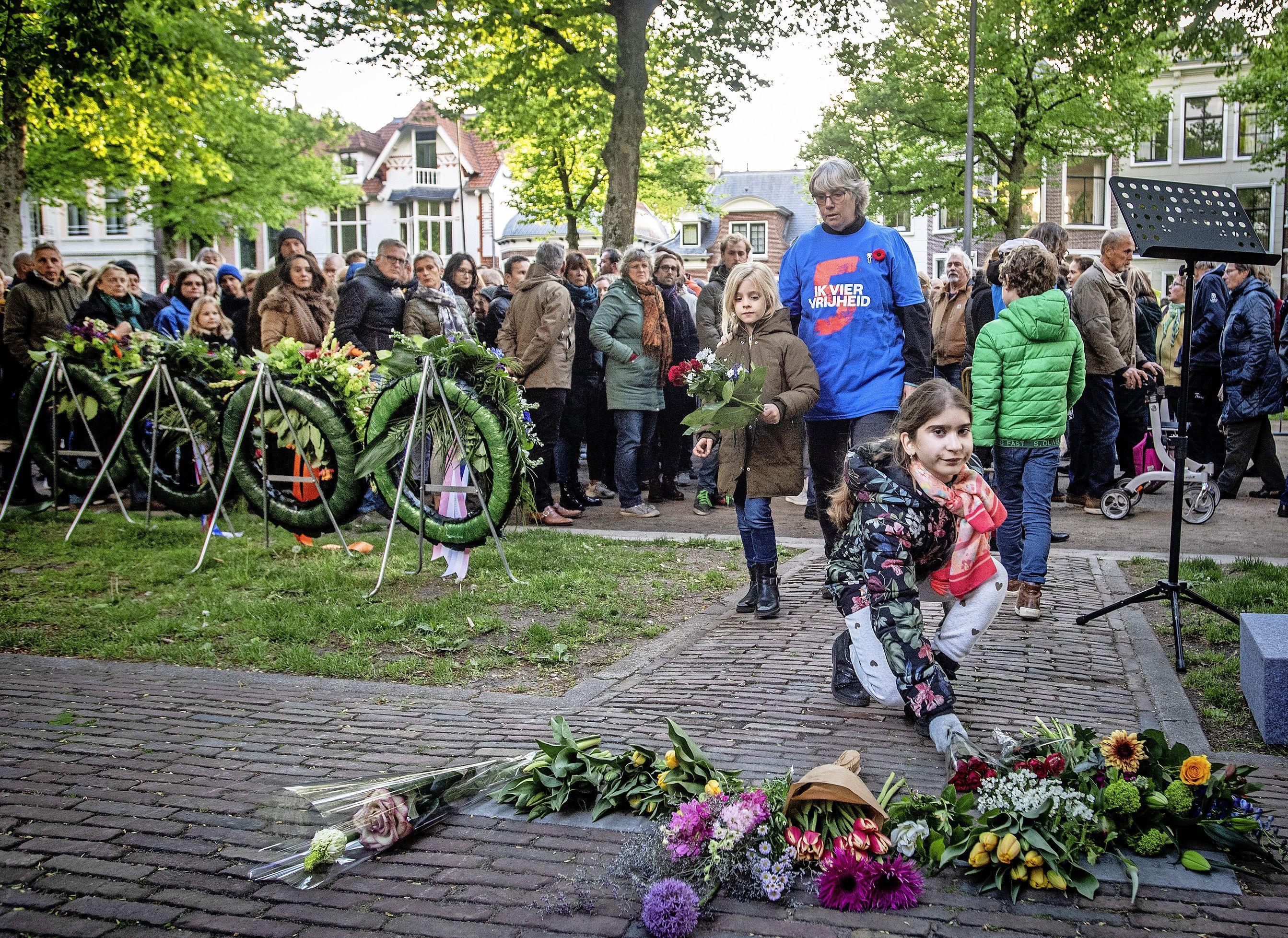 Renske Leijten was 10 toen ze voor het eerst de Dreef-executies herdacht: 'Het is heel belangrijk om te benadrukken wat het betekent om geen vrijheid te hebben'