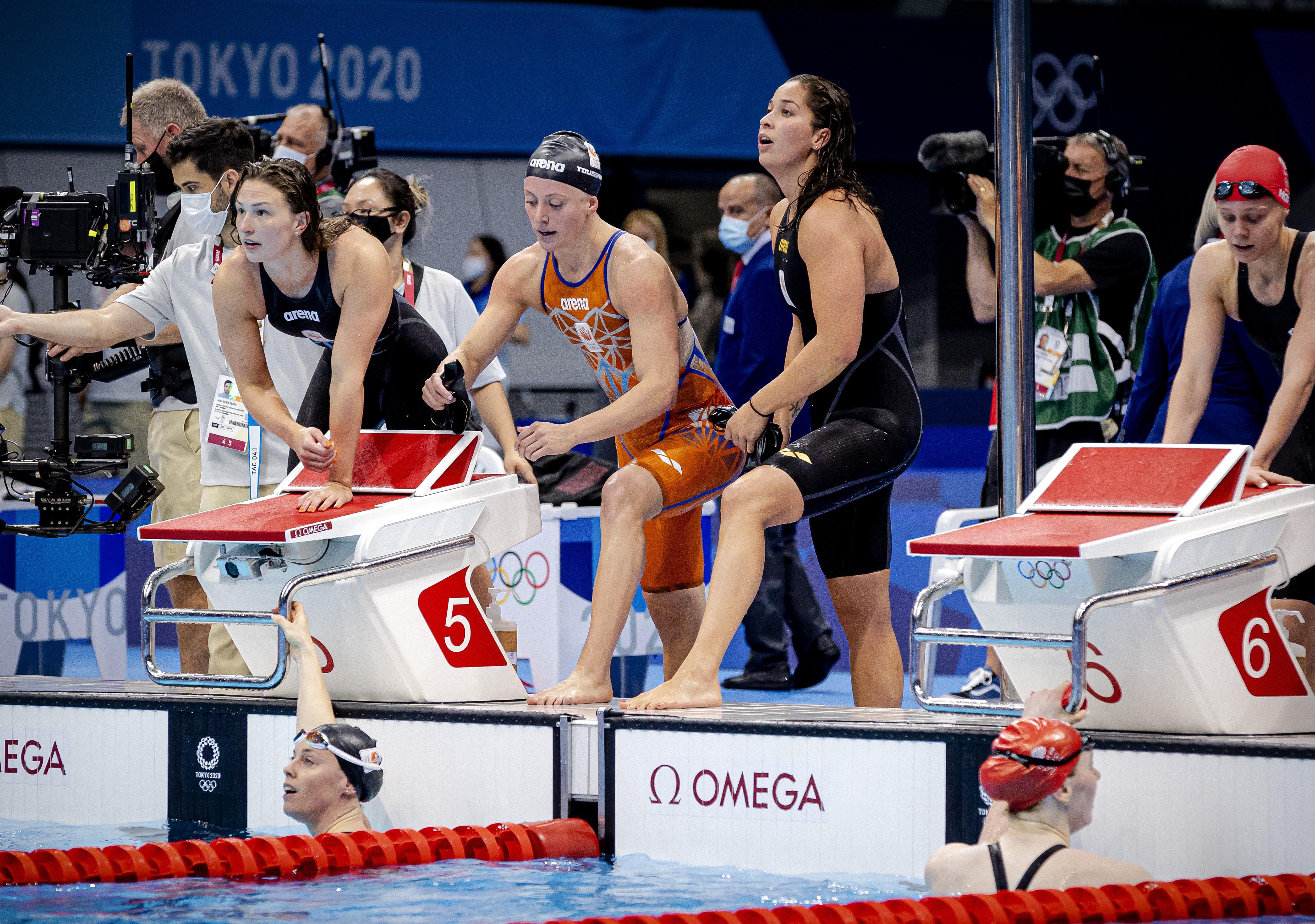 Vierde plek in Tokio voelt voor zwemsters anders dan in Rio