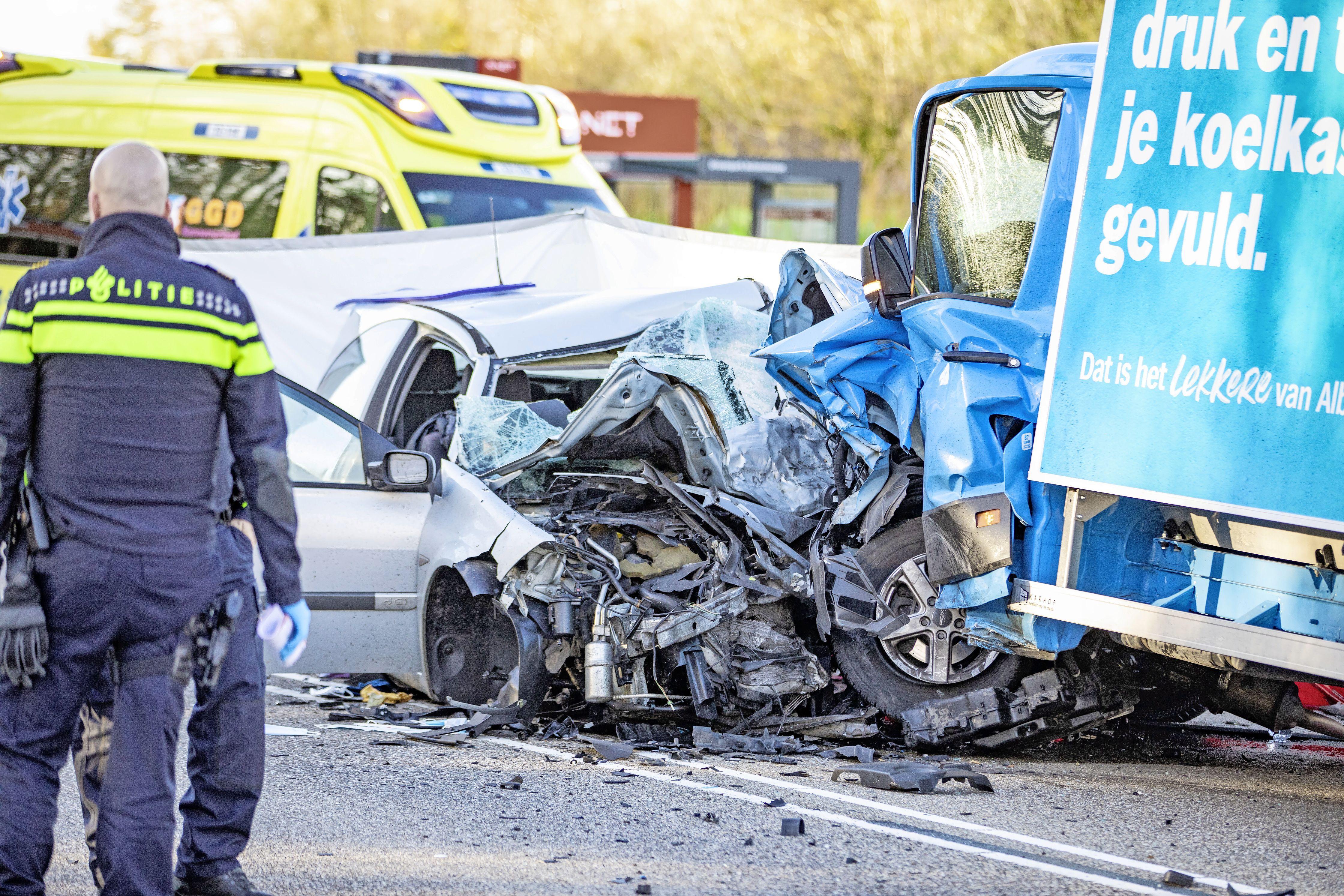 Bestuurder AH-bestelbusje die drugs gebruikte en achter het stuur in slaap viel, moet twee jaar cel in voor veroorzaken dodelijk ongeval
