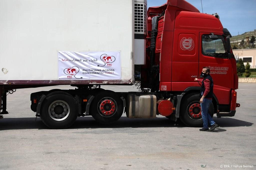 Eerste coronavaccinsgearriveerd in Syrië