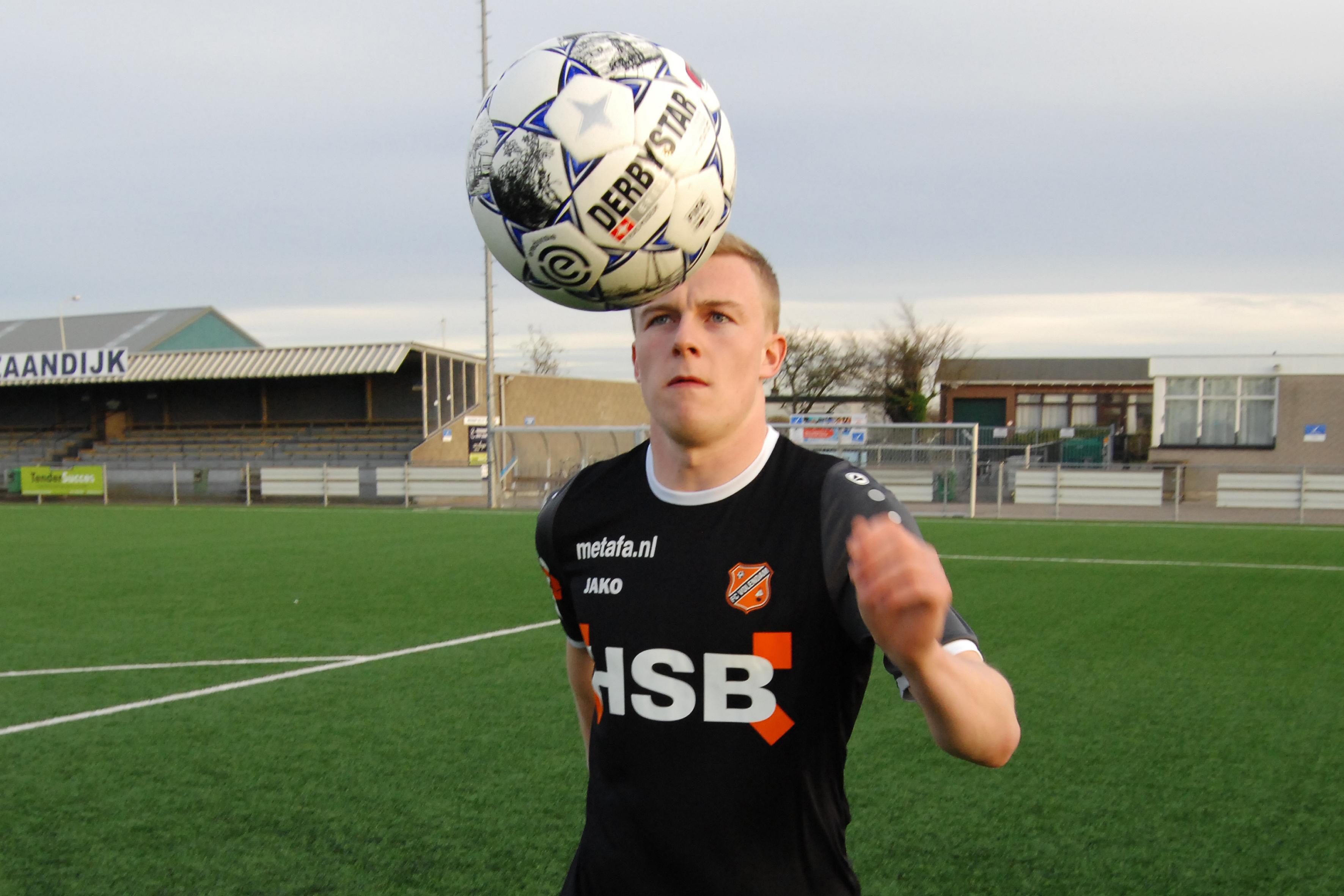 FC Volendam-aanvaller Derry John Murkin heeft alleen wat vlees bij de slager gehamsterd, 'voor geval dat'