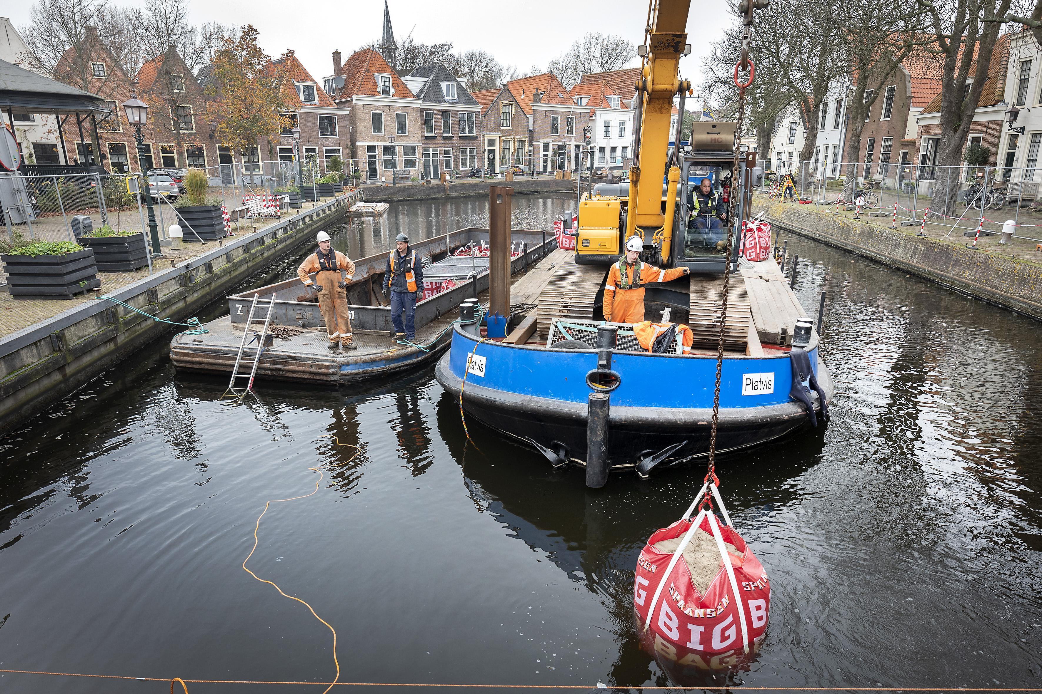 Kolksluis, oudste sluis van Europa, wordt onderhanden genomen