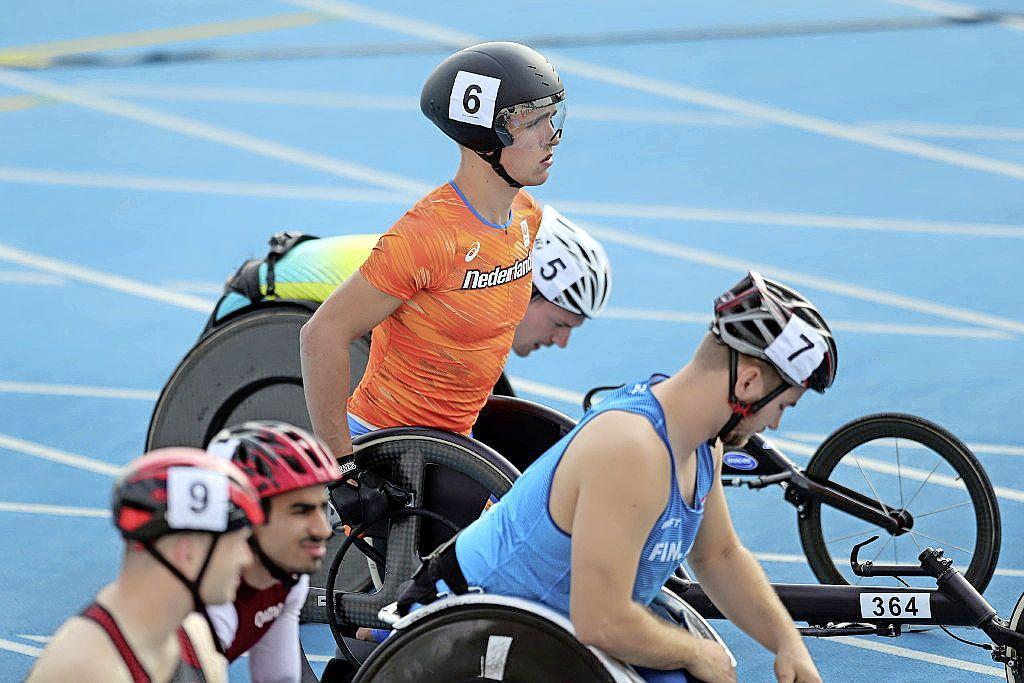 'Ik ben extra goed als er veel druk op staat'. Purmerendse wheeler Stefan Rusch verwacht dat hij tijdens de Paralympische Spelen in Tokio op zijn best is