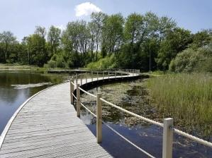 Bezoekerscentrum de Hoep in Castricum weer open met exposities en een vlonderpad