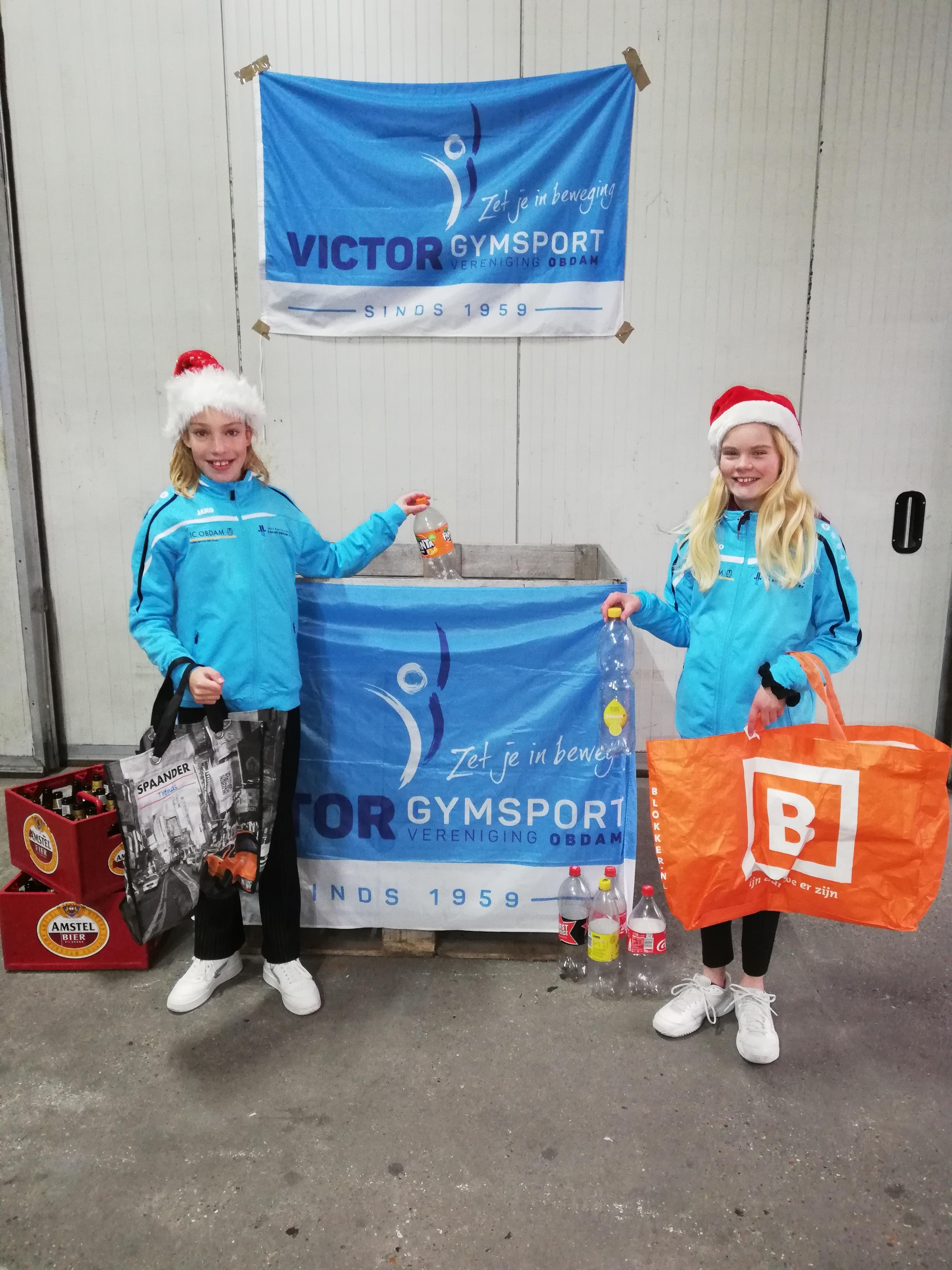 Flessen-drive-in, want jaarlijkse inzamelingsactie blijft nodig bij Victor Gymsport in Obdam