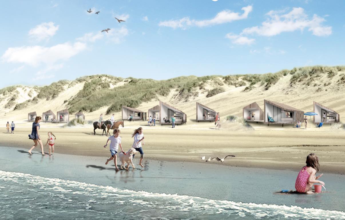 Eindelijk: het nieuwe plan voor vakantiehuizen op het strand van Petten is goedgekeurd. 'Een machtig mooi moment', vindt de wethouder