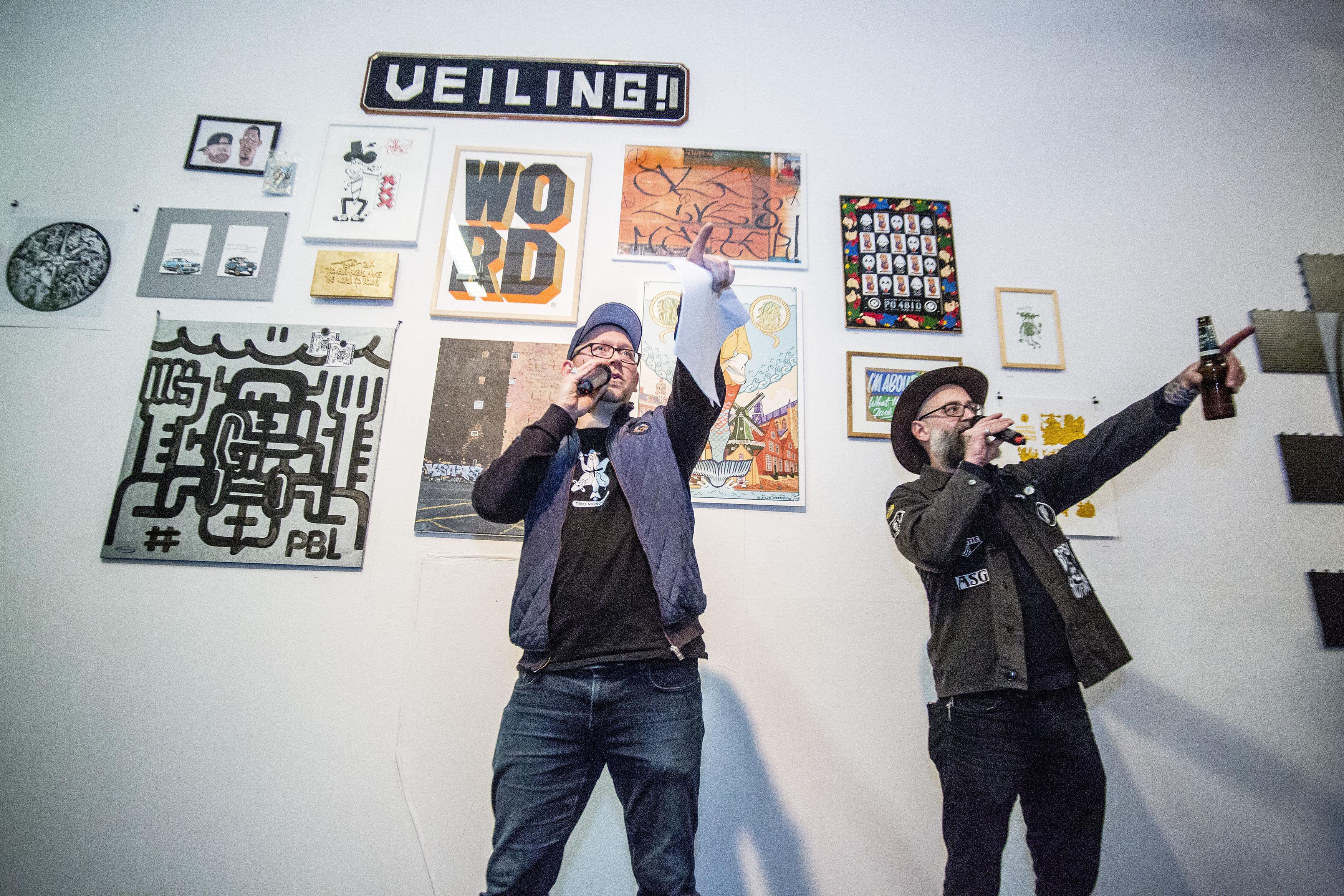 Hiphoppen in Nieuwe Vide voor Voedselbank Haarlem-Oost levert 2400 euro op