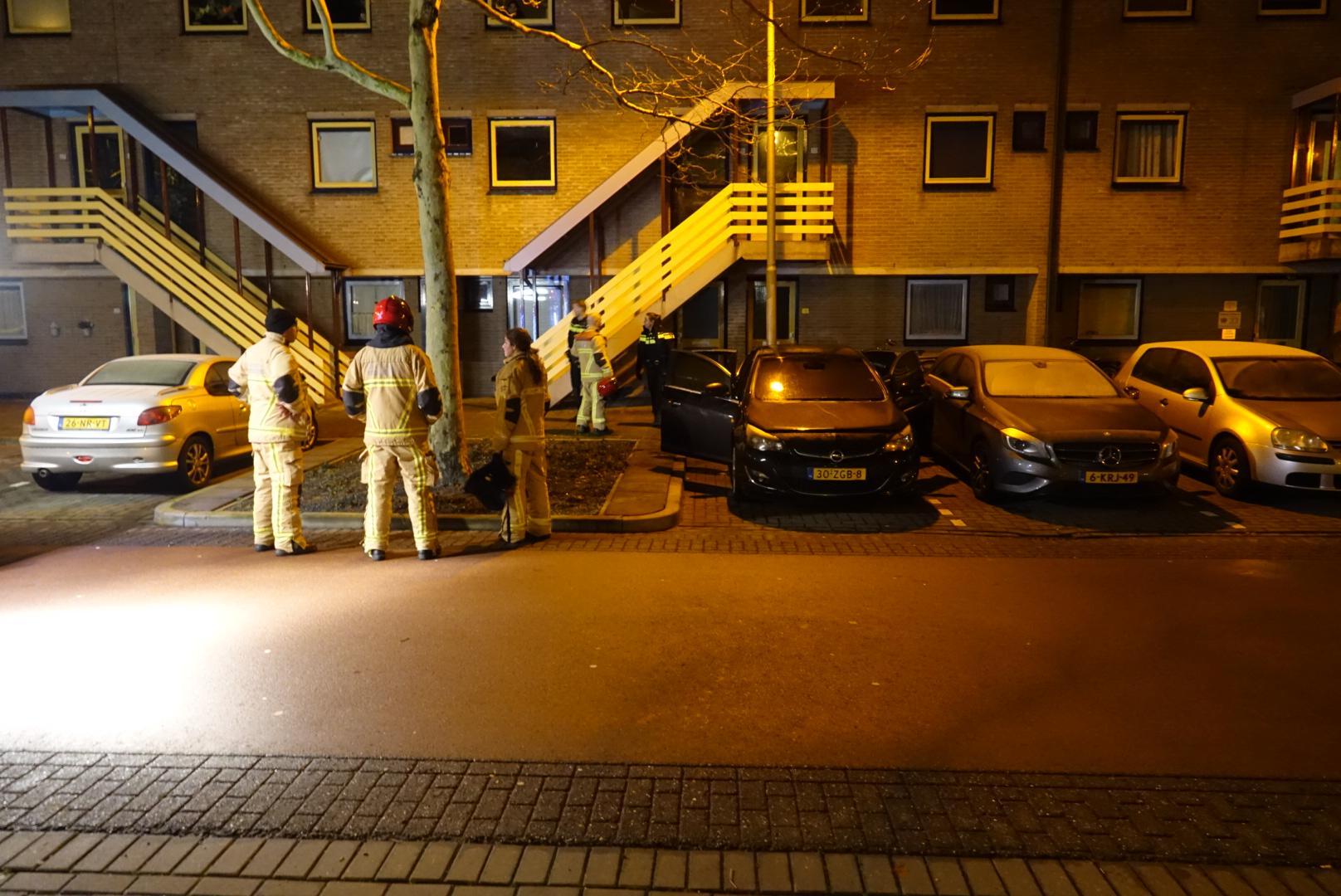 Poging brandstichting auto in Purmerend, brandweer is er snel bij