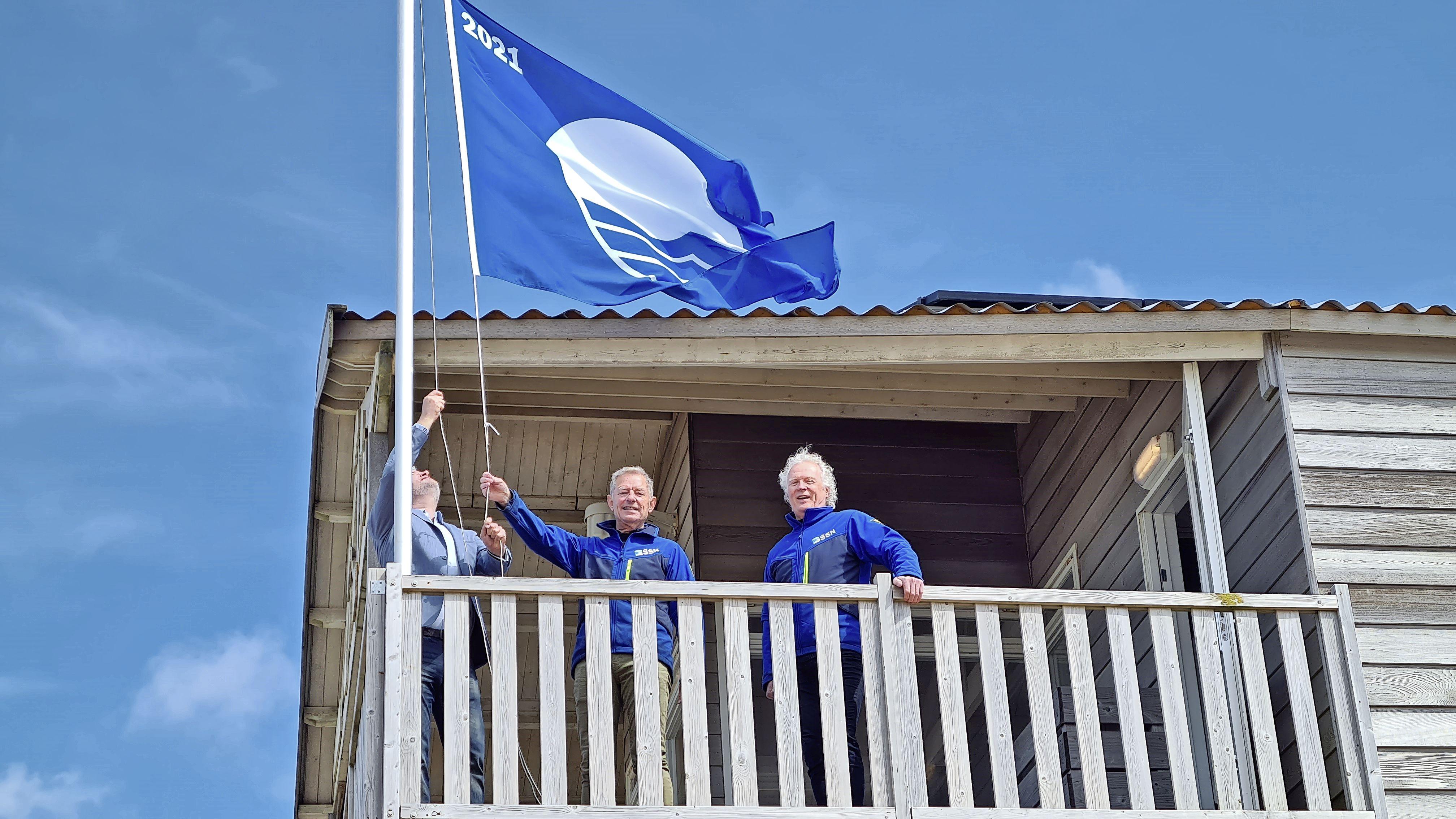 De stranden en jachthavens in de Noordkop zijn wederom zo schoon dat ze dit seizoen opnieuw een blauwe vlag mogen voeren