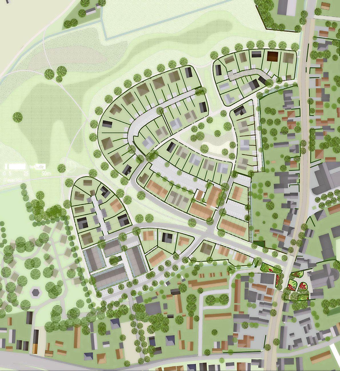 De gemeente Bergen wil 40 procent sociale woningbouw, maar in een plan voor 162 woningen is dat slechts 30 procent. Hoe zit dat?