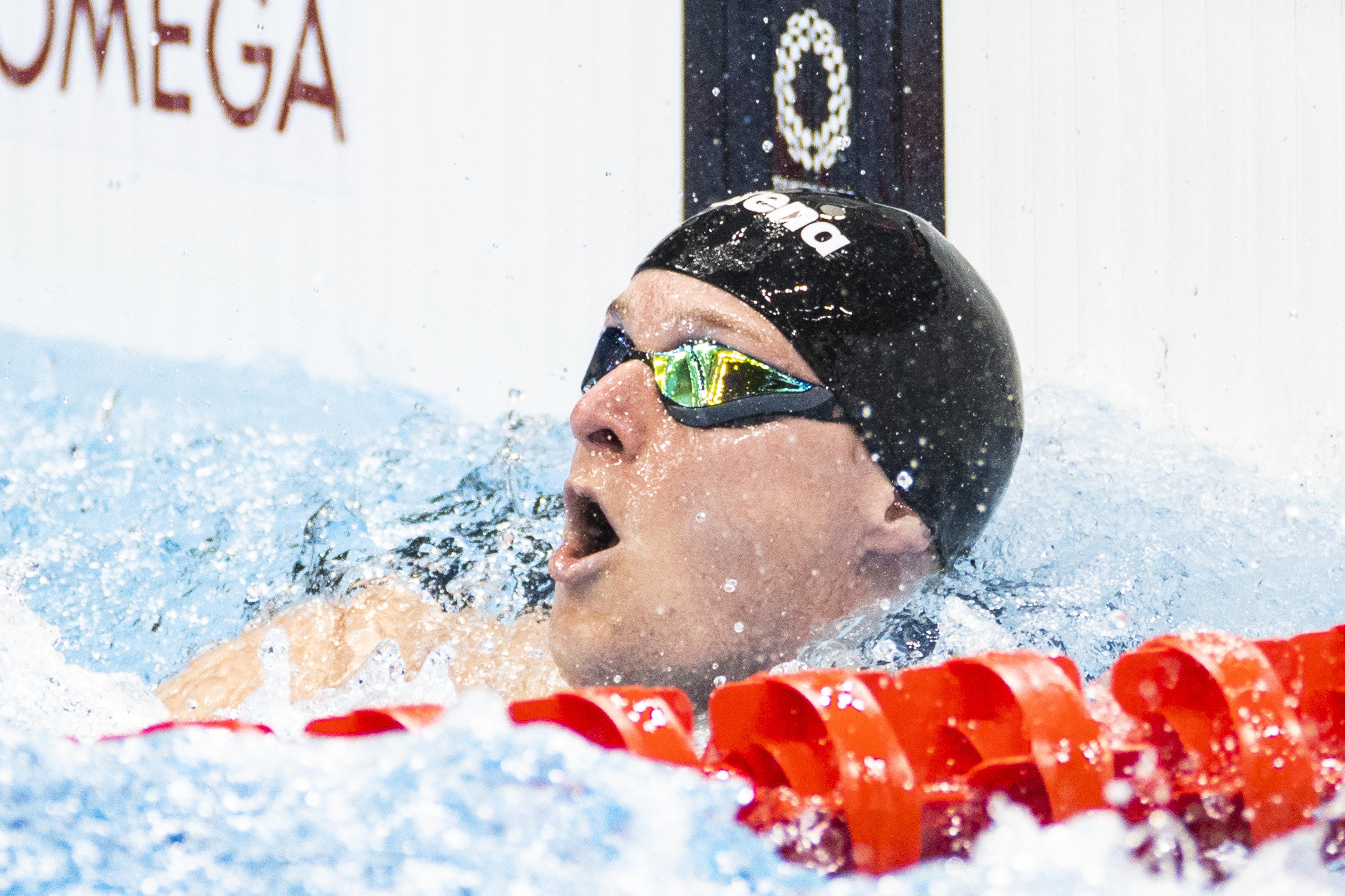 Thom de Boer naar olympische finale 50 meter vrije slag
