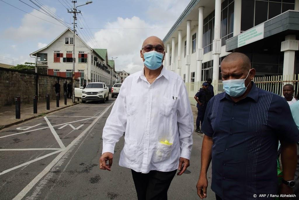 Vijf arrestaties na wapendiefstal uit huis Bouterse