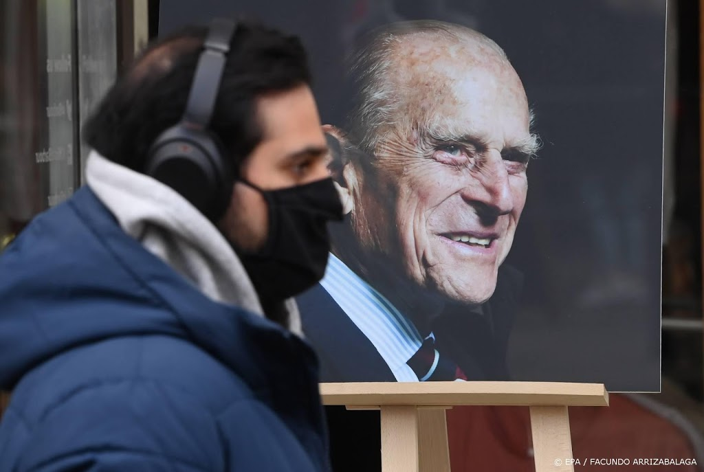 Laatste eer aan prins Philip tijdens uitvaart bij Windsor Castle