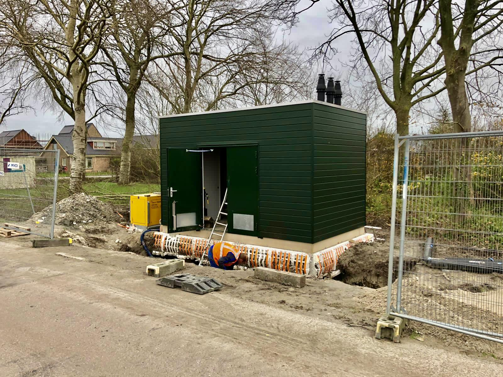 Heerhugowaardse wijk Reinderseiland moet het voorlopig stellen zonder restwarmte HVC. Nieuwbouwwoningen dus toch op gas