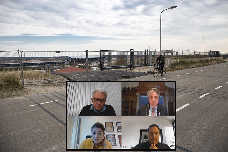 Wethouders beraden zich op positie: politiek Zandvoort klemgereden op extra weg Circuit
