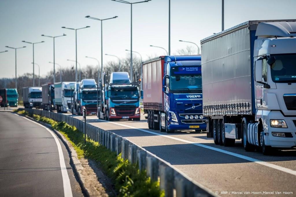 'Helft vrachtwagenchauffeurs rijdt te lang door'
