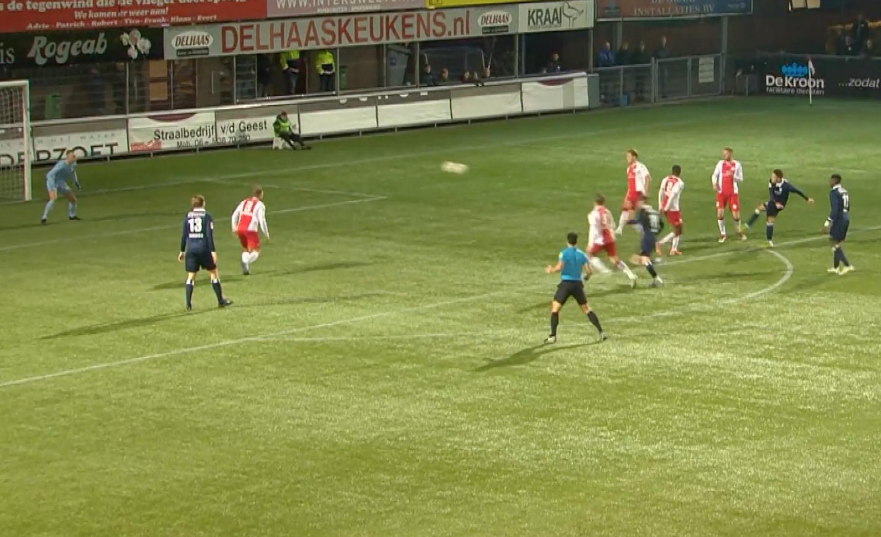 Bekijk hier de doelpunten van de wedstrijd IJsselmeervogels - Koninklijke HFC [video]
