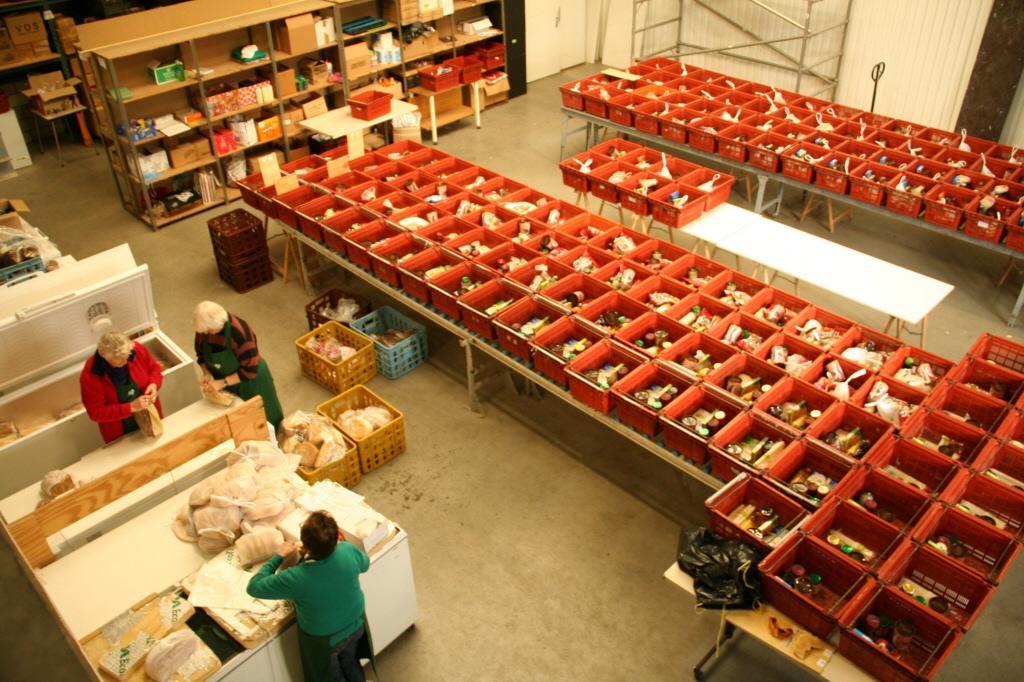 Voedselbank West-Friesland rekent op stijgende hulpvraag vanwege corona