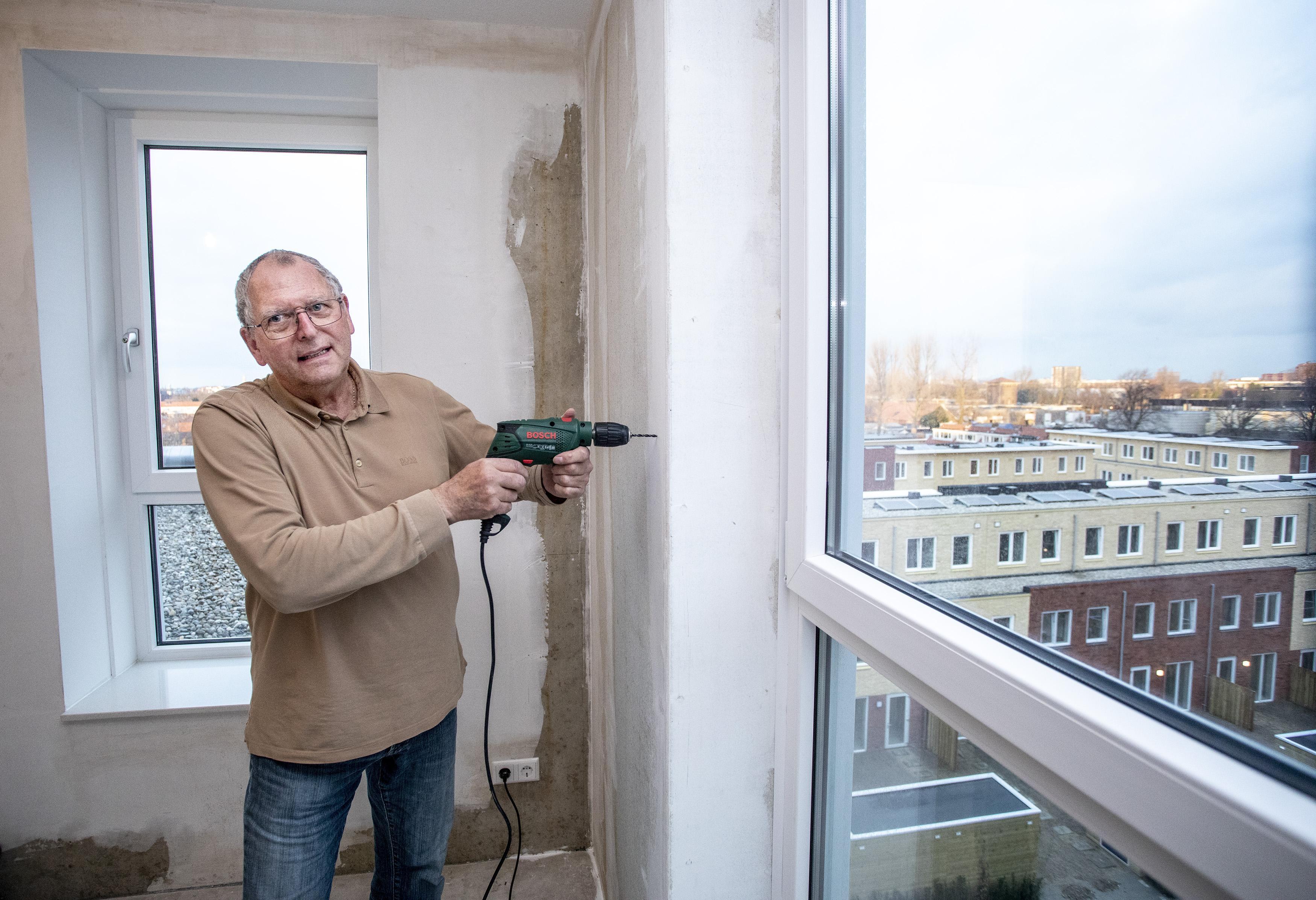 Nieuw woongebouw Hof van Leijh in Haarlem-Oost is klaar: 'Het moet hier echt een mini-samenleving worden'