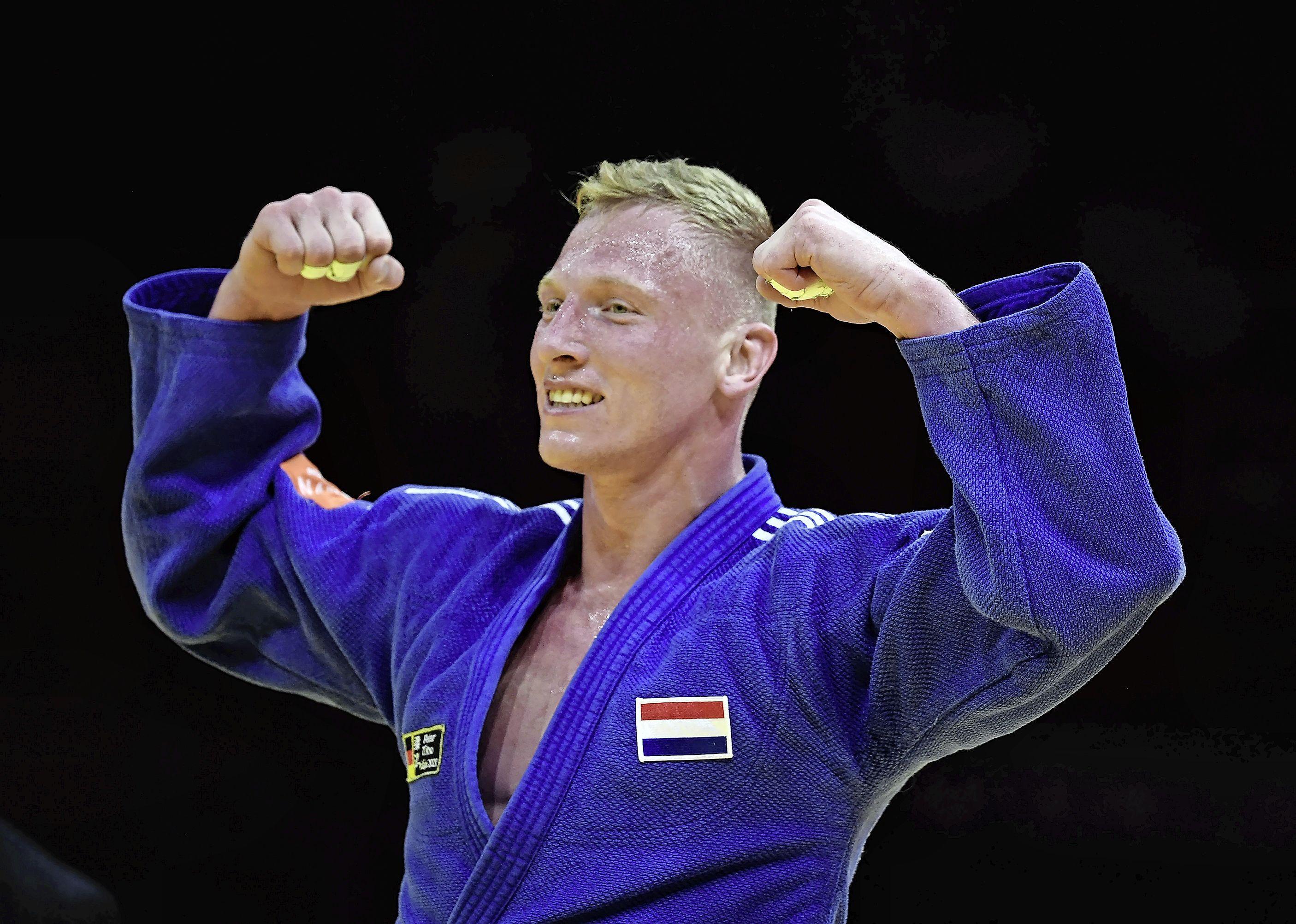 Judoka De Wit uit Heemskerk wint brons op WK