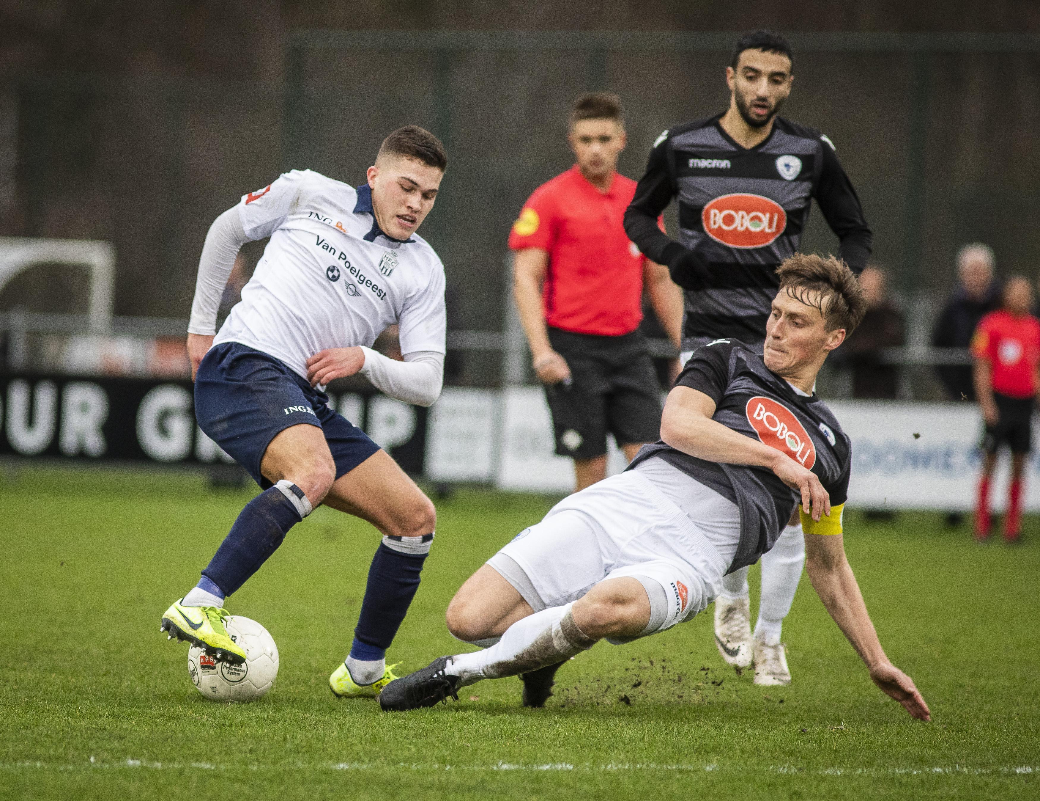 KNVB splitst landelijke klassen in tweeën: HFC in tweede divisie A bij Spakenburgse grootmachten, niet tegen Bollenstreek-clubs