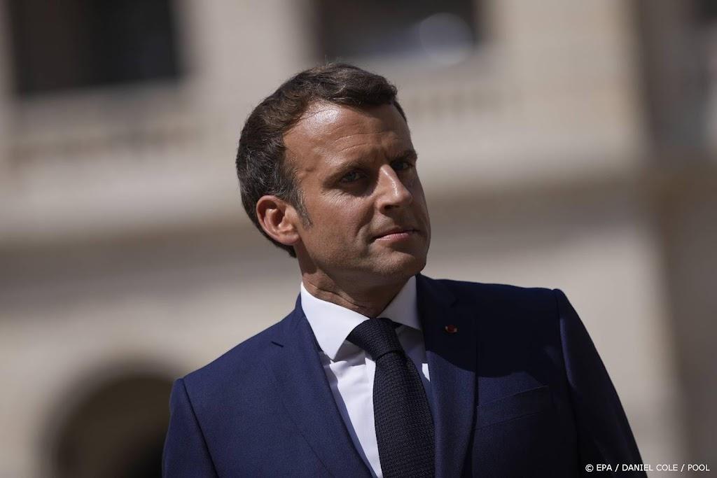 Macron wil snel veiligheidsberaad over 'mobieltjesspionage'