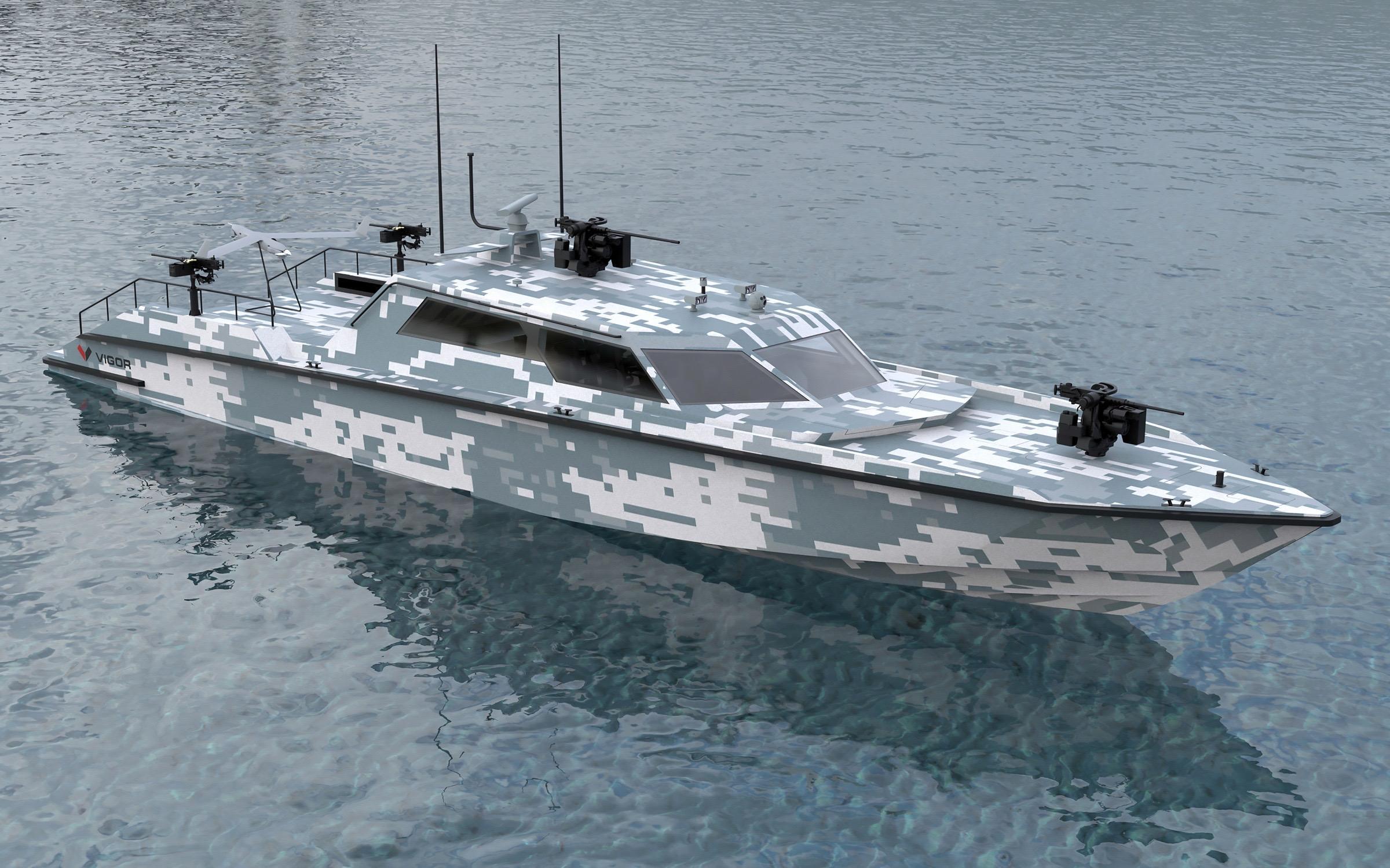 Marine gaat opvolger van snelle boot Frisc bestellen