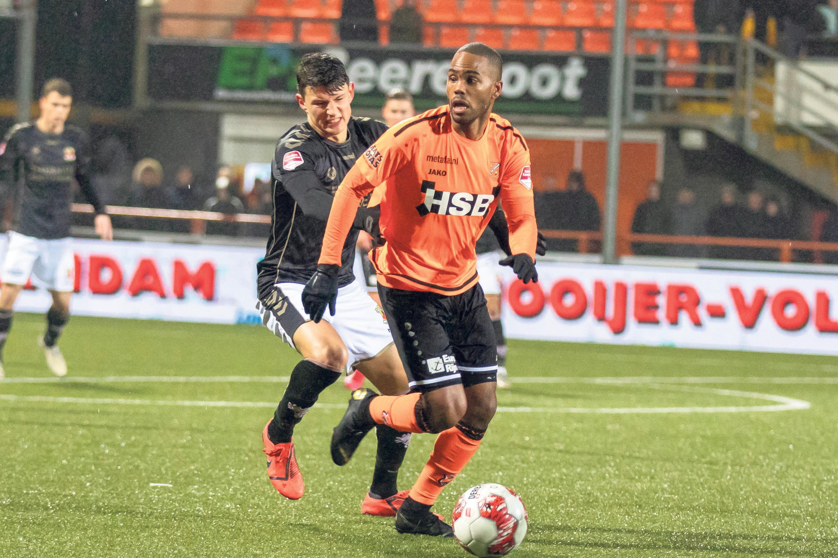 FC Volendam doet voorstel aan KNVB. NAC, FC Volendam en RKC moeten loten om plek in eredivisie voetbal. 'Een aanvaardbaar sportief alternatief', vindt Keje Molenaar