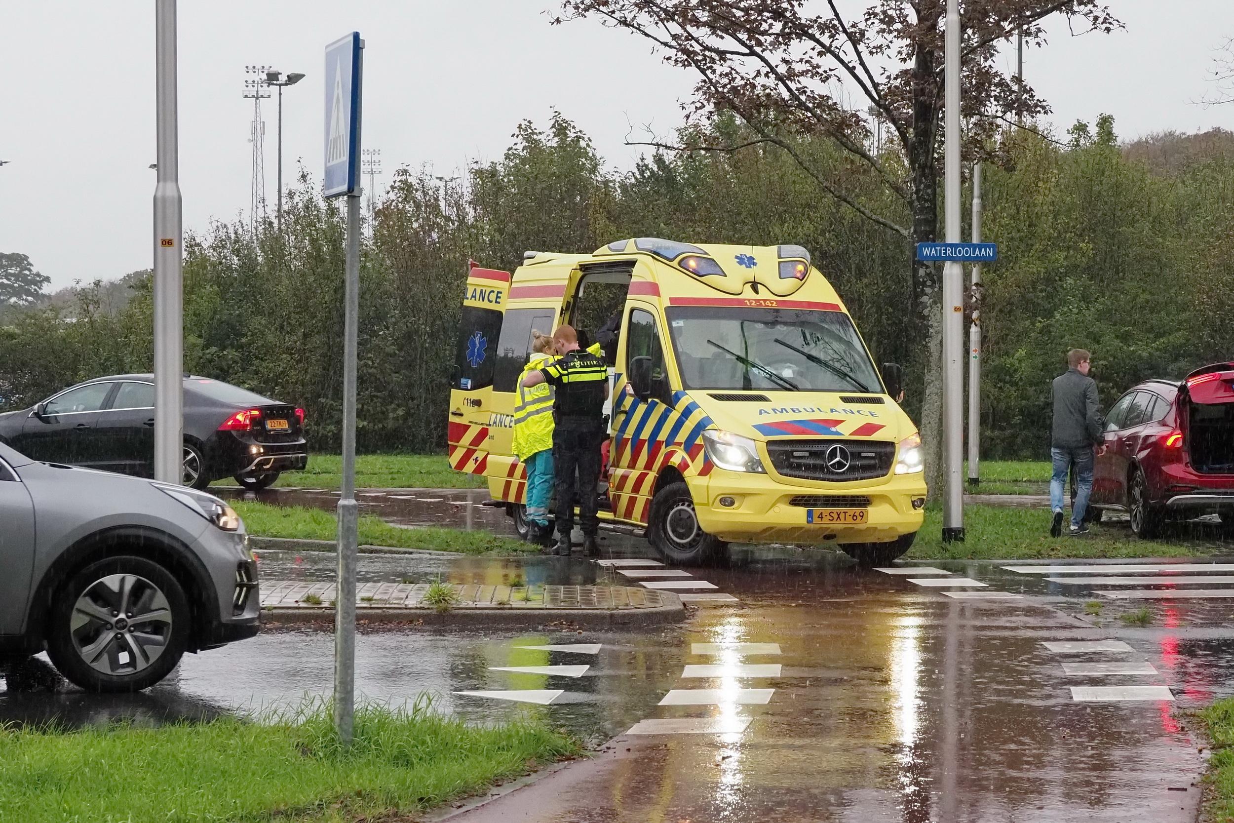 Fietser gewond bij valpartij in Driehuis