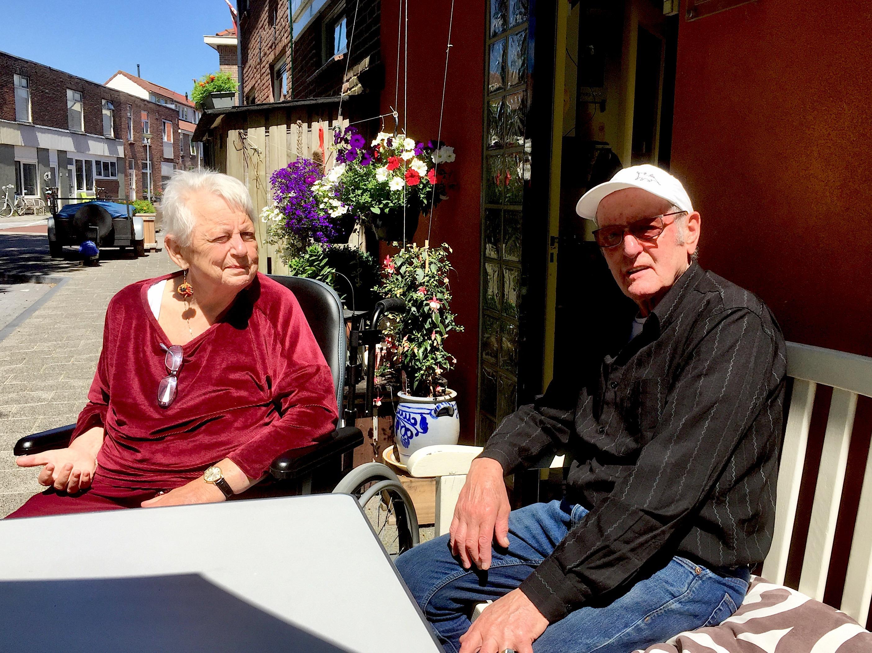 Onderweg: Het leven van Els en Henk Hofland heeft zich afgespeeld in de Van der Kaaijstraat in Alkmaar