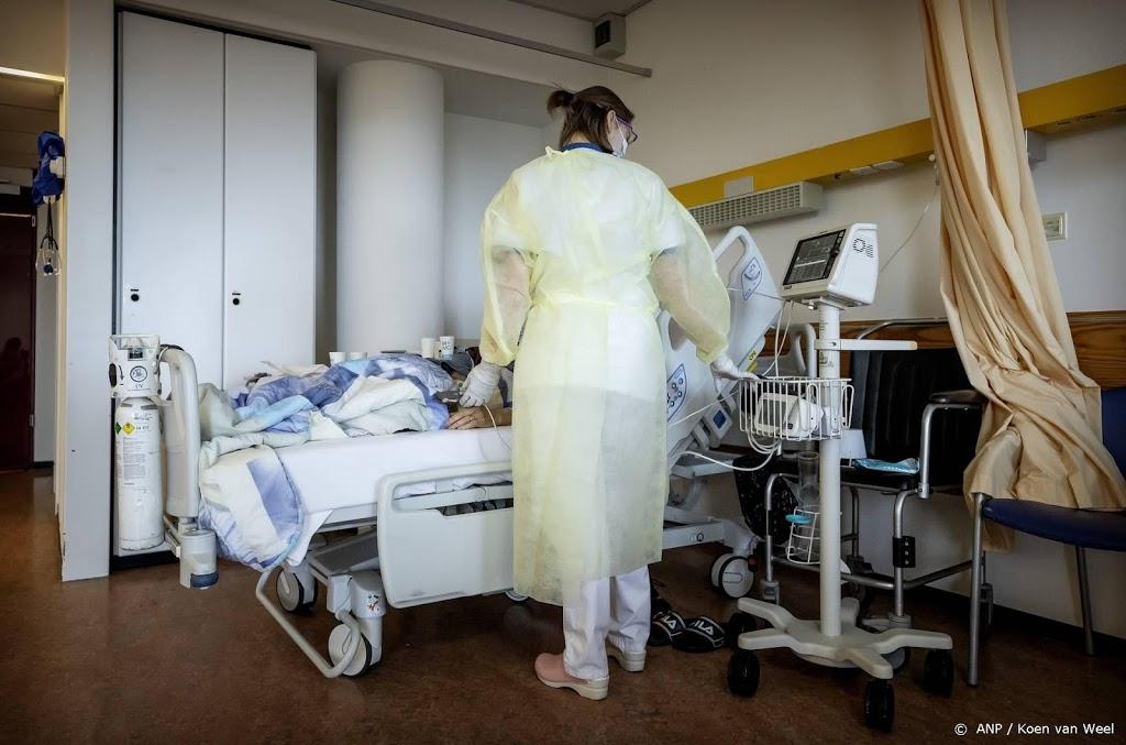 Aantal coronapatiënten in ziekenhuizen stijgt licht