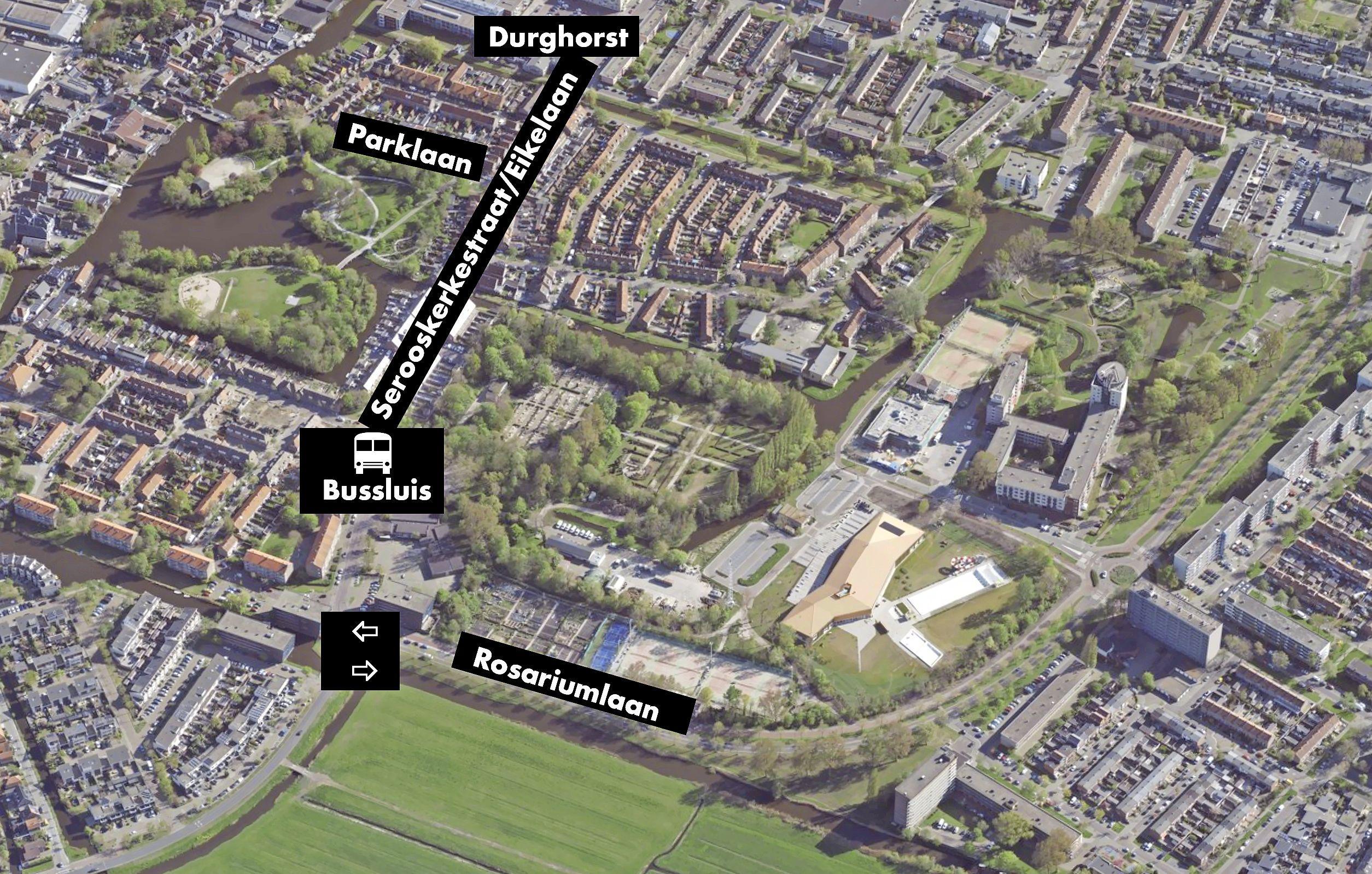 Bussluis bij Serooskerkestraat zou verlichting voor wijk zijn; nu is er grote verkeersdruk op Agathebuurt in Krommenie